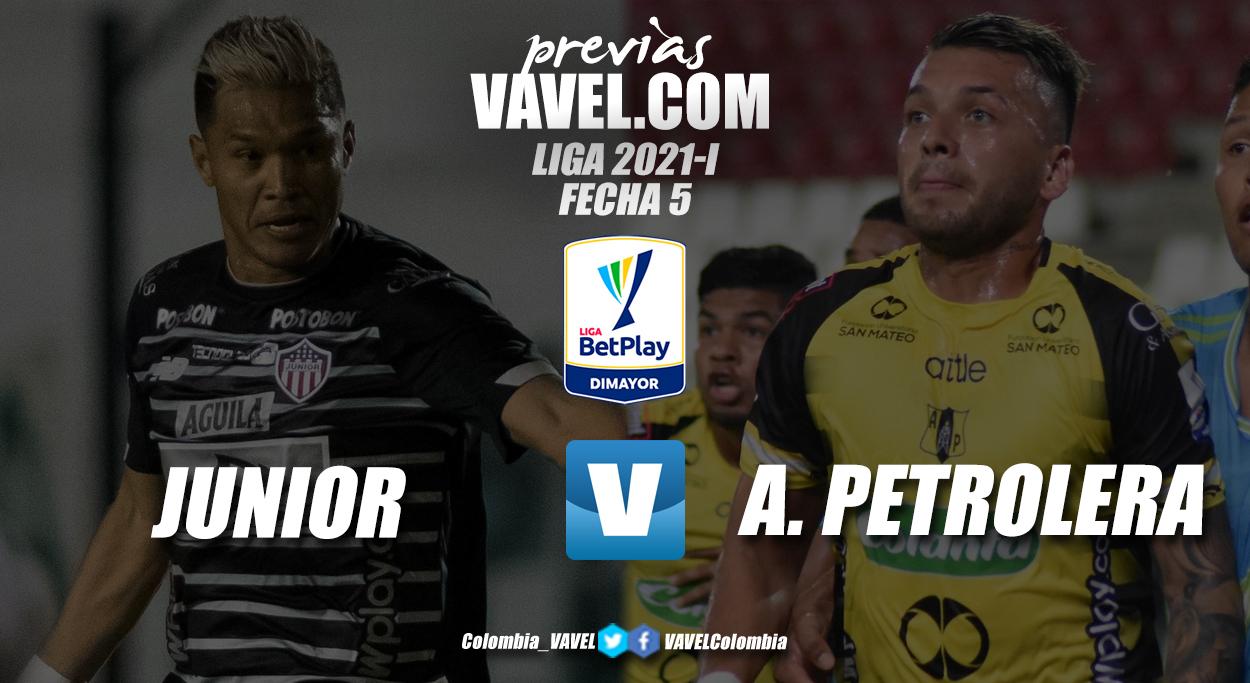 Previa Junior vs Alianza Petrolera: los 'aurinegros' quieren asaltar al 'tiburón' en Barranquilla