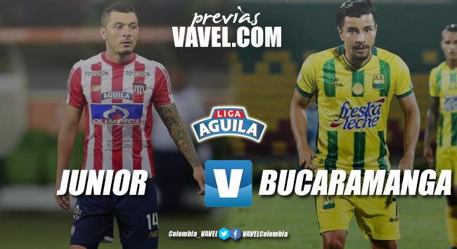 Previa Junior de Barranquilla vs Atlético Bucaramanga: dos equipos que buscan redireccionar su camino