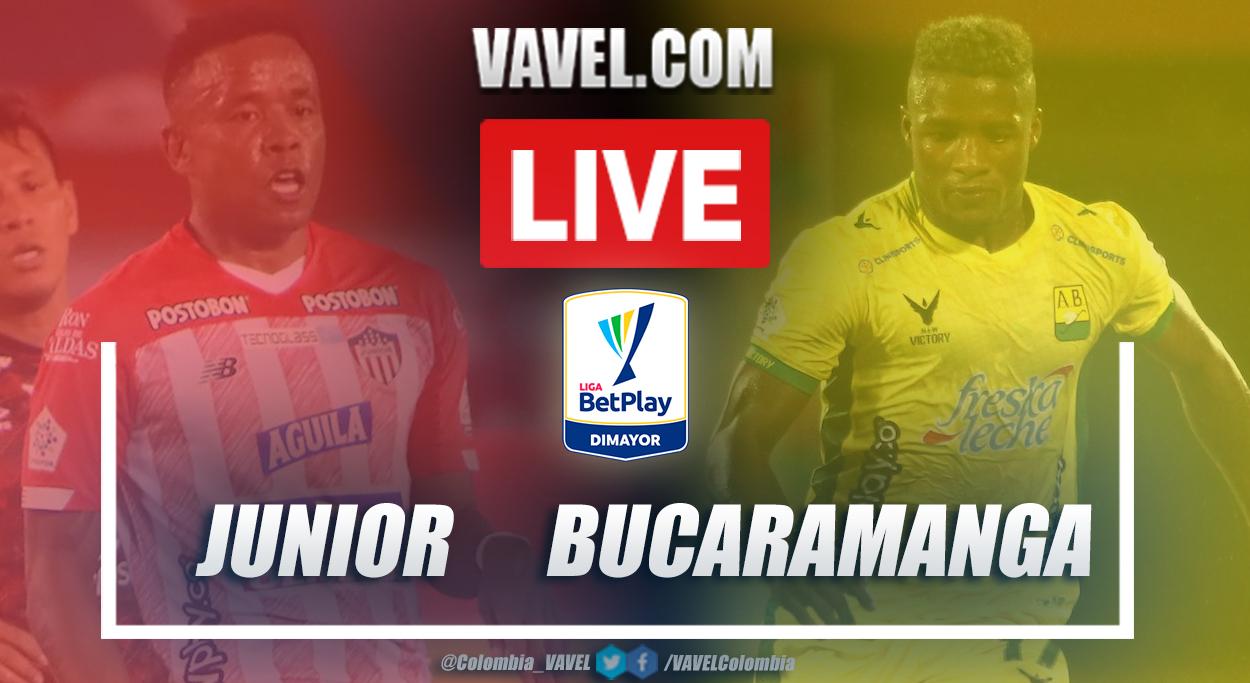 Resumen Junior vs Bucaramanga (1-1) en la fecha 11 por Liga BetPlay 2021-I