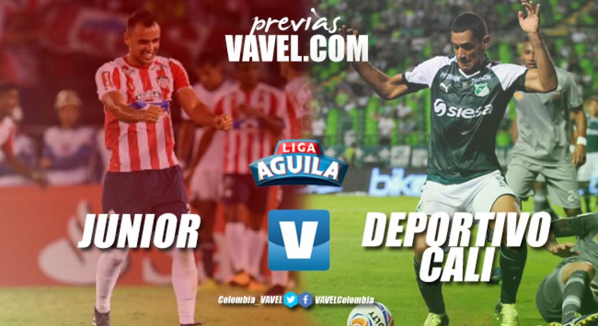 Junior derrotó al Deportivo Cali en el Metropolitano