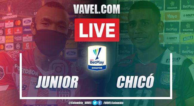 Resumen Junior vs Boyacá Chicó (3-0) por la Liga BetPlay 2020