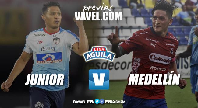 Previa Junior de Barranquilla vs Independiente Medellín: campeón y subcampeón se vuelven a encontrar