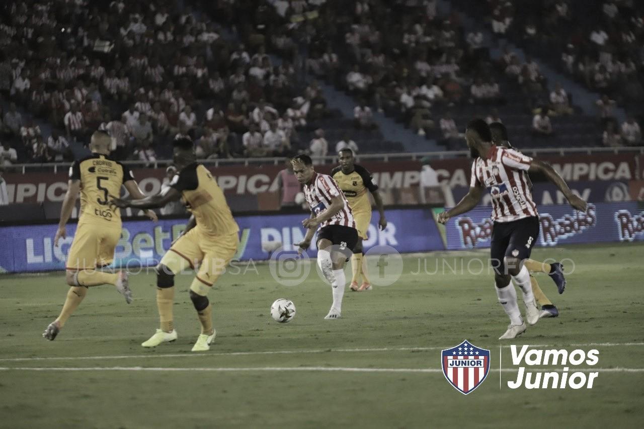 Junior fue efectivo ysumó un triunfo contra Medellín