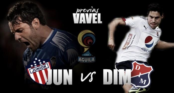 Atlético Junior - Independiente Medellín: DIM a pegar primero en la gran final