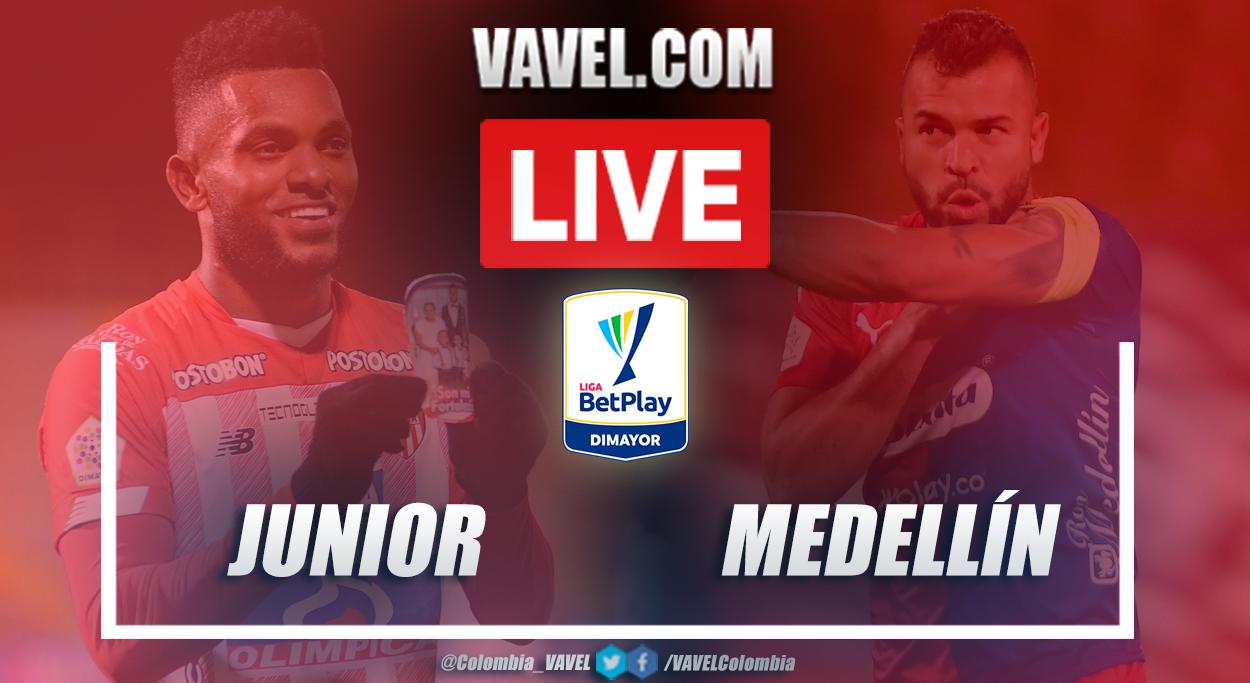 Junior vs Medellín EN VIVO: cómo y dónde ver transmisión en directo online por Liga BetPlay