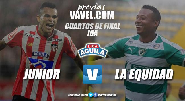 Previa Junior vs La Equidad: la oportunidad de dar el primer paso a semifinales
