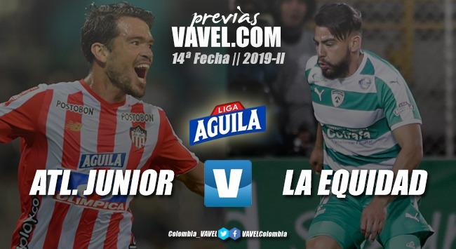Previa Junior de Barranquilla vs. La Equidad: por acercarse a la clasificación
