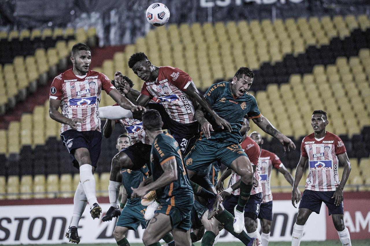 Empate opaco de Junior ante Fluminense en Ecuador