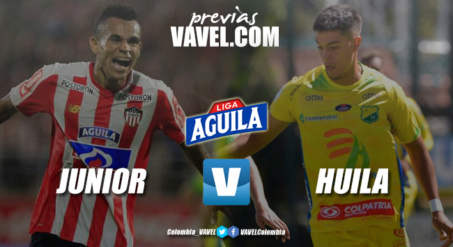 Previa Junior de Barranquilla vs Atlético Huila: la victoria es el objetivo de ambos equipos