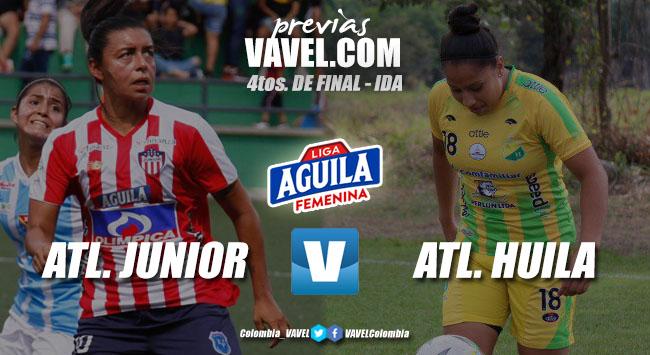 Previa Atlético Junior vs Atlético Huila: comienzan las finales para las mujeres