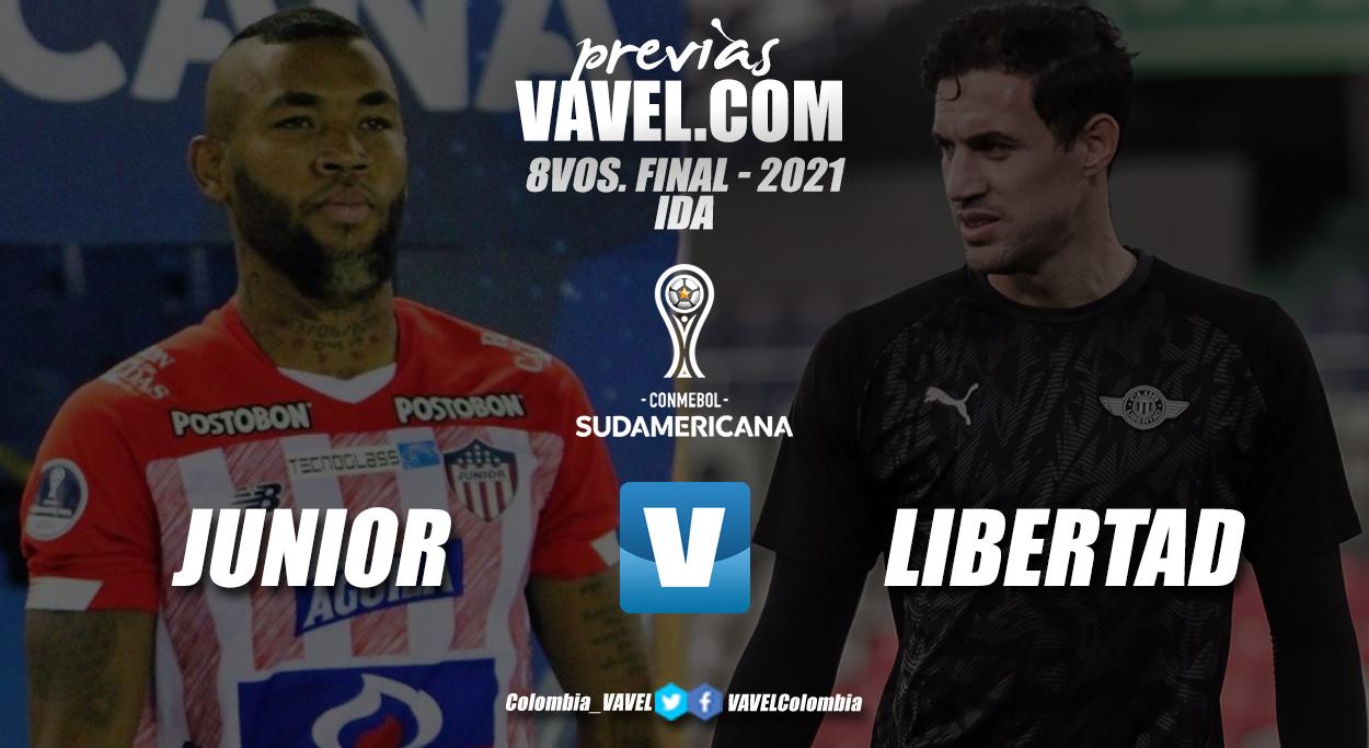 Previa Junior de Barranquilla vs Club Libertad: primer choque por la clasificación a cuartos