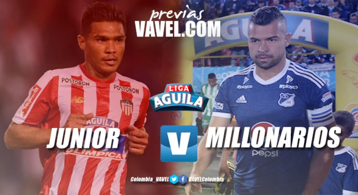 Previa Junior vs Millonarios: realidades distintas y tres puntos en juego