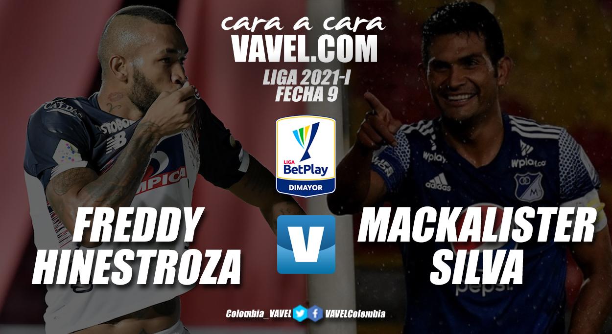 Cara a cara: Freddy Hinestroza vs David Mackalister Silva
