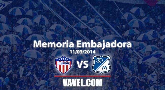 Memoria 'embajadora': hace cinco años Millonarios triunfaba en Barranquilla