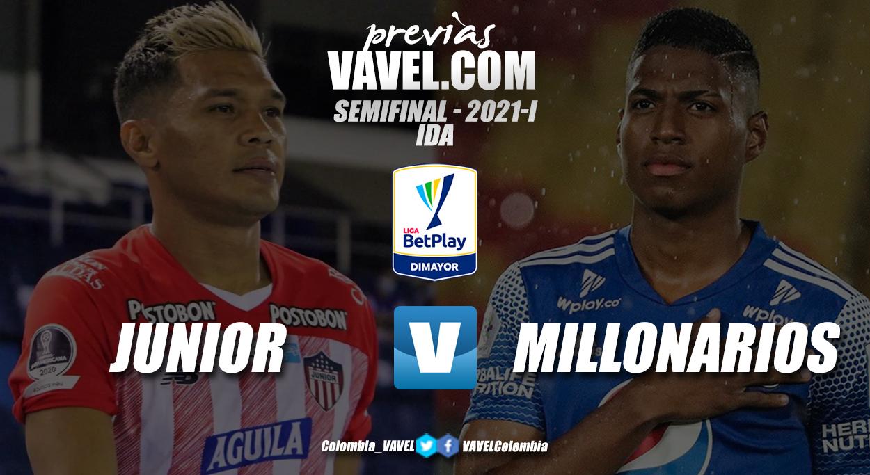 Previa Junior vs Millonarios: primer round para definir un finalista