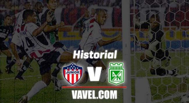 Historial entre Junior y Atlético Nacional