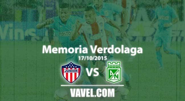 Memoria 'verdolaga': Nacional y una exhibición de fútbol en Barranquilla