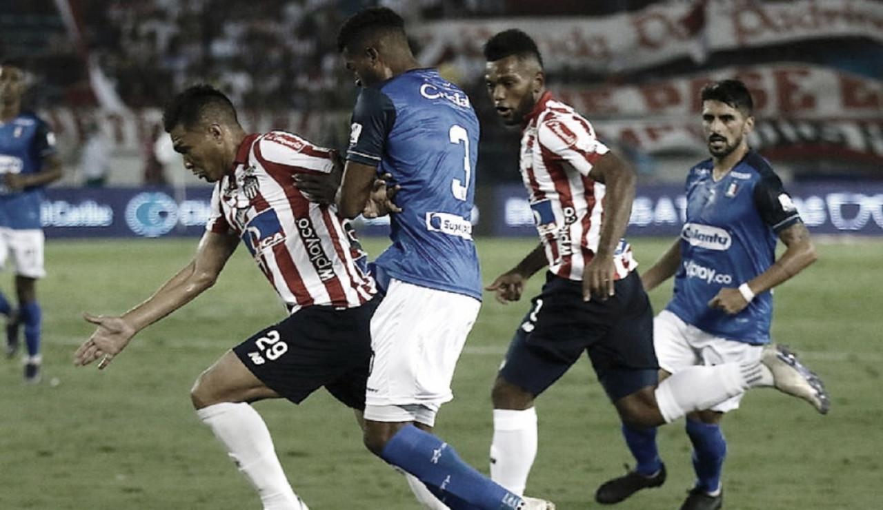 Junior no pudo con el Once Caldas y repartieron puntos en el Metropolitano