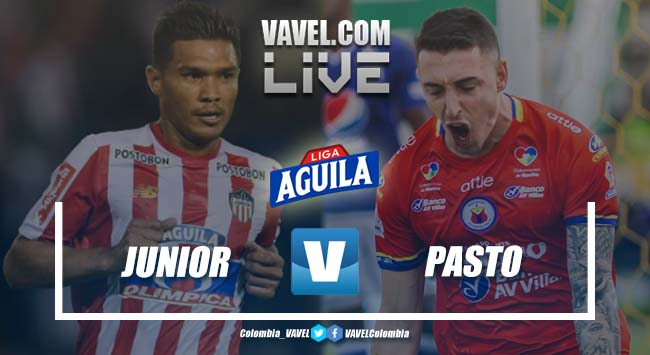 Resumen Junior vs Pasto, final ida de la Liga Aguila 2019-I (1-0)