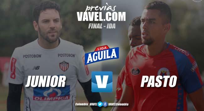 Previa Junior de Barranquilla vs Deportivo Pasto: primer round de la gran final