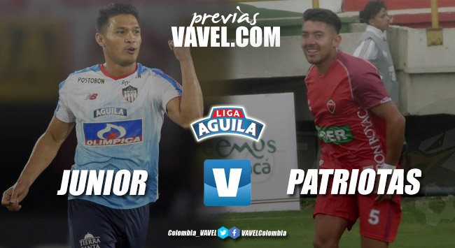Previa Junior vs Patriotas Boyacá: debut del 'tiburón' recibiendo al 'lancero' encendido