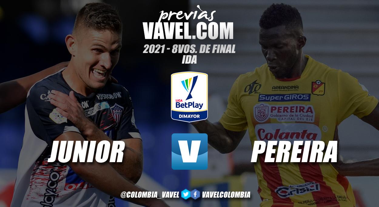 Previa Junior de Barranquilla vs Deportivo Pereira: debut del 'tiburón' en la copa