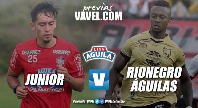 Previa Junior de Barranquilla vs Rionegro: el 'tiburón' quiere bajar a las 'águilas'