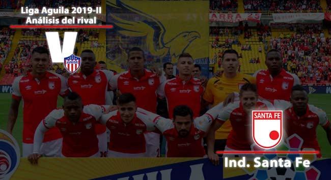Junior de Barranquilla, análisis del rival: Independiente Santa Fe