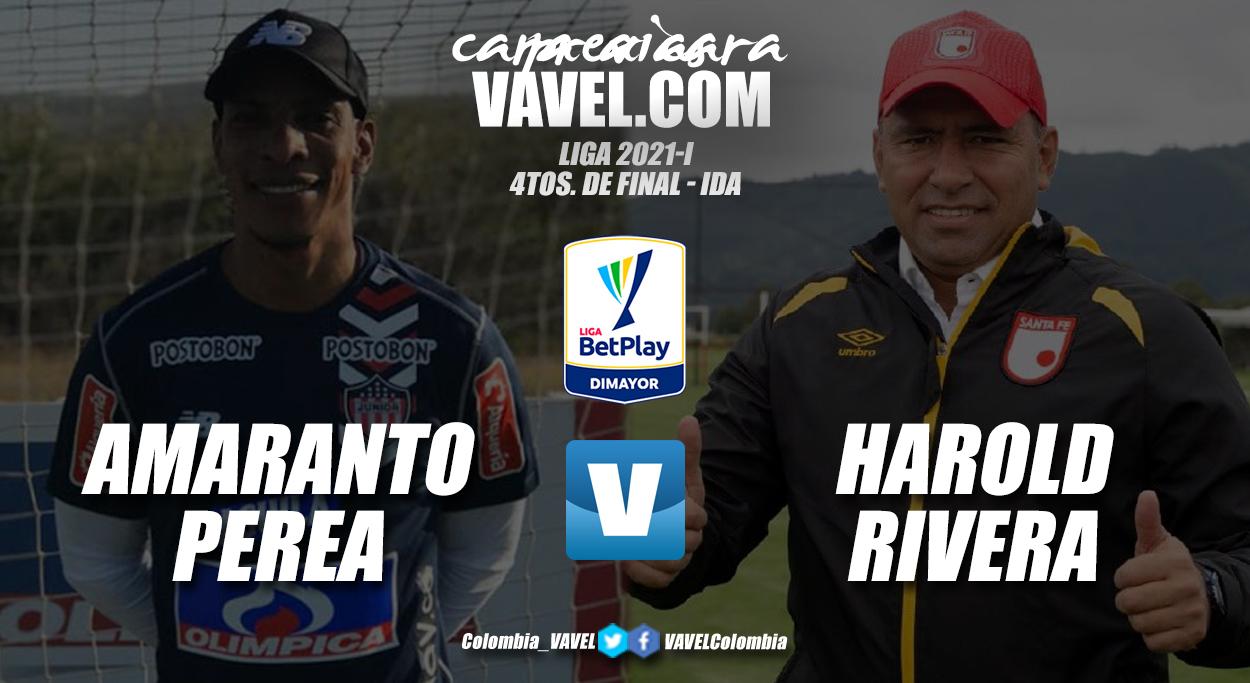 Cara a cara: Amaranto Perea vs. Harold Rivera