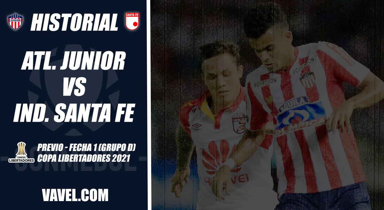 Historial Junior vs. Santa Fe: primer duelo en Libertadores