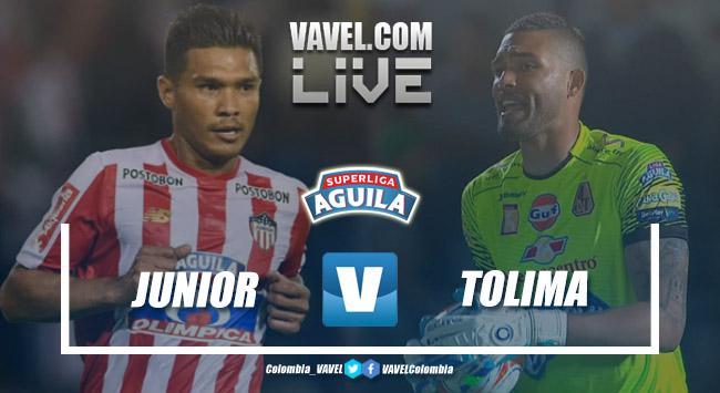 Junior vs Tolima EN VIVO online por la Superliga Águila 2019