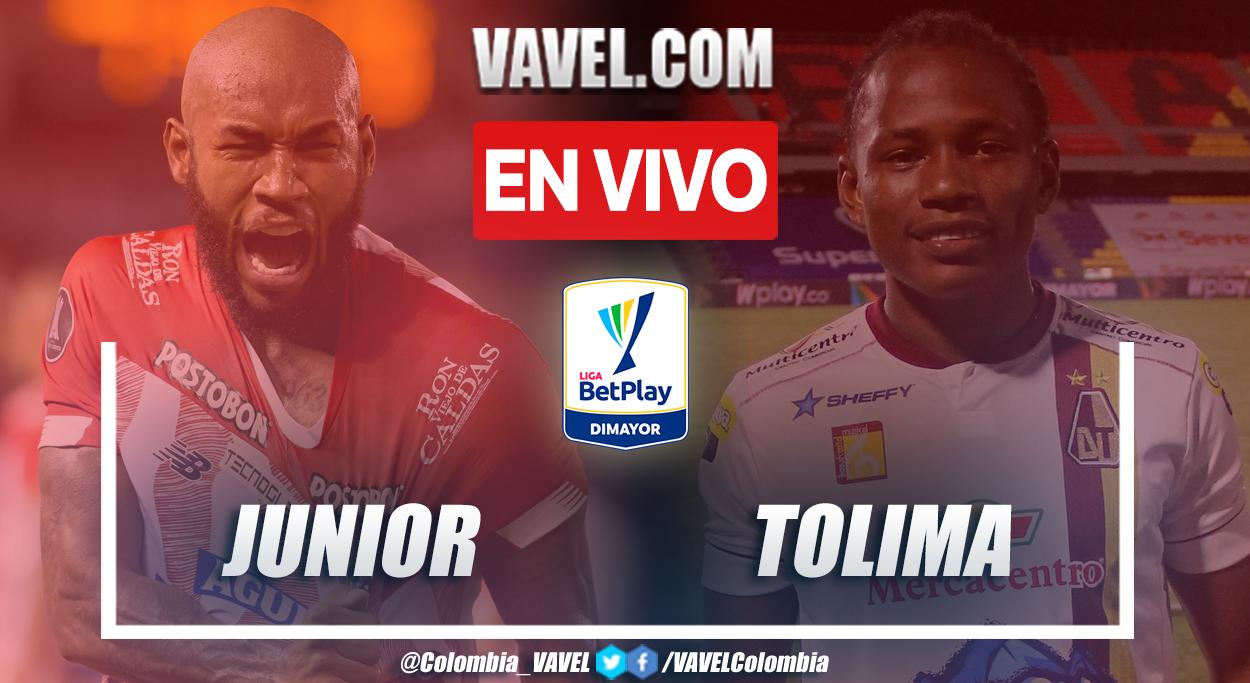 Resumen Junior vs Deportes Tolima (0-0) en la fecha 4 por Liga BetPlay 2021-II