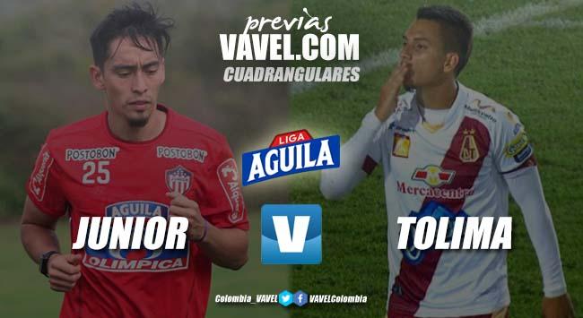 Previa Junior vs Deportes Tolima: duelo de líderes, duelo de campeones