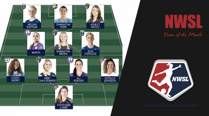 NWSL Best XI for June announced