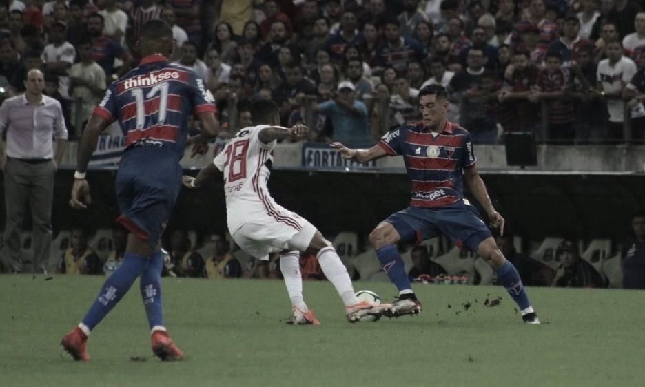 """Juninho crê em evolução do Fortaleza após derrota em casa: """"Estamos no caminho certo"""""""