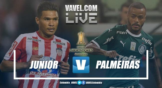 Resultado Junior de Barranquilla vs Palmeiras (0-2) en vivo por Copa Libertadores 2019