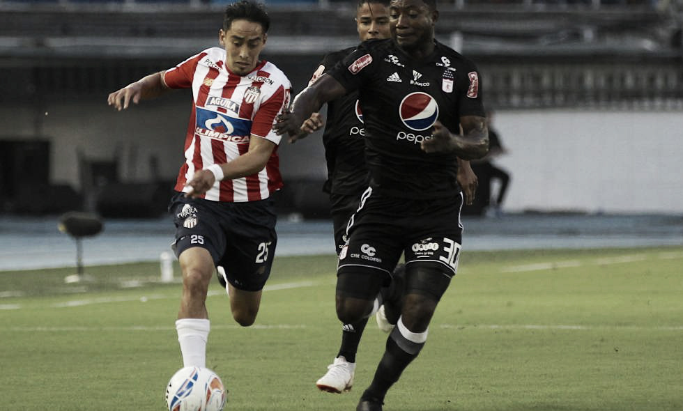 Datos del empate de América ante Junior en Barranquilla