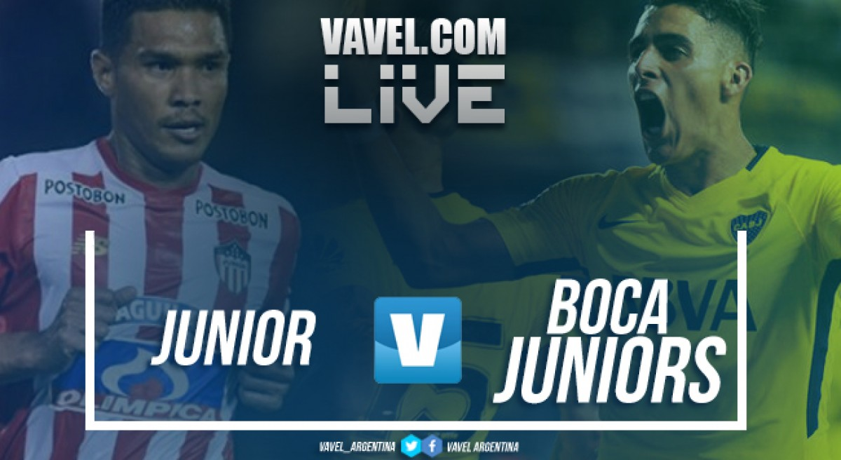Resumen Junior 1-1 Boca Juniors en Copa Libertadores 2018