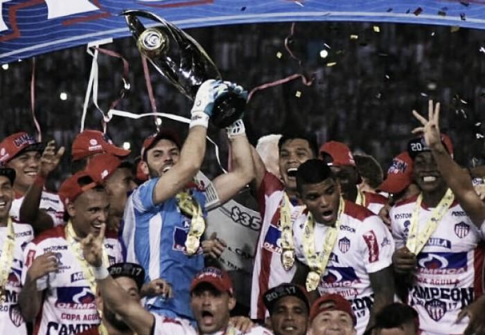 A fuerza de fútbol y goles, Junior conquistó su segunda Copa Águila