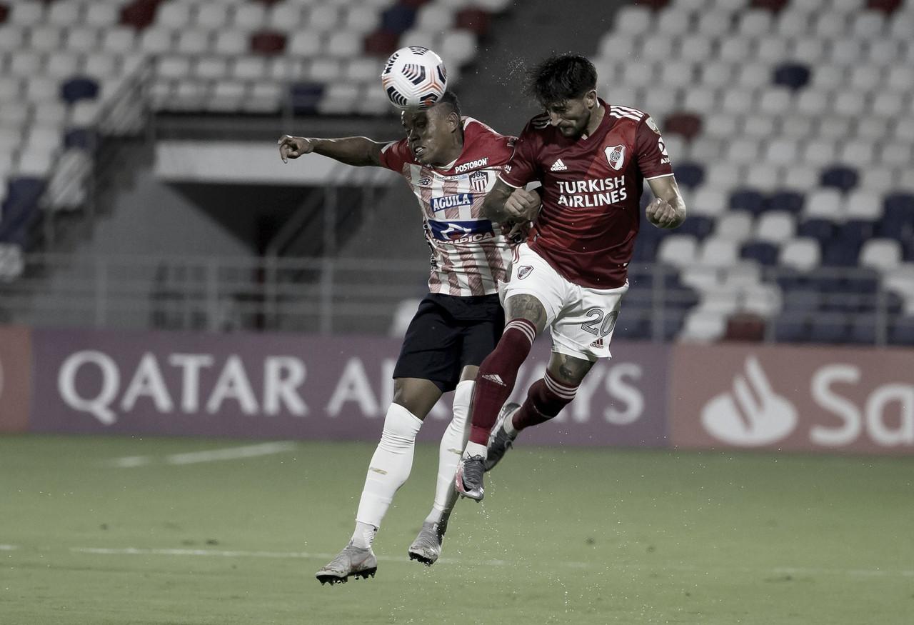 A Junior se le escapó el triunfo en el último suspiro ante River Plate