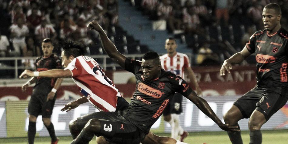 El último enfrentamiento entre Junior e Independiente Medellín