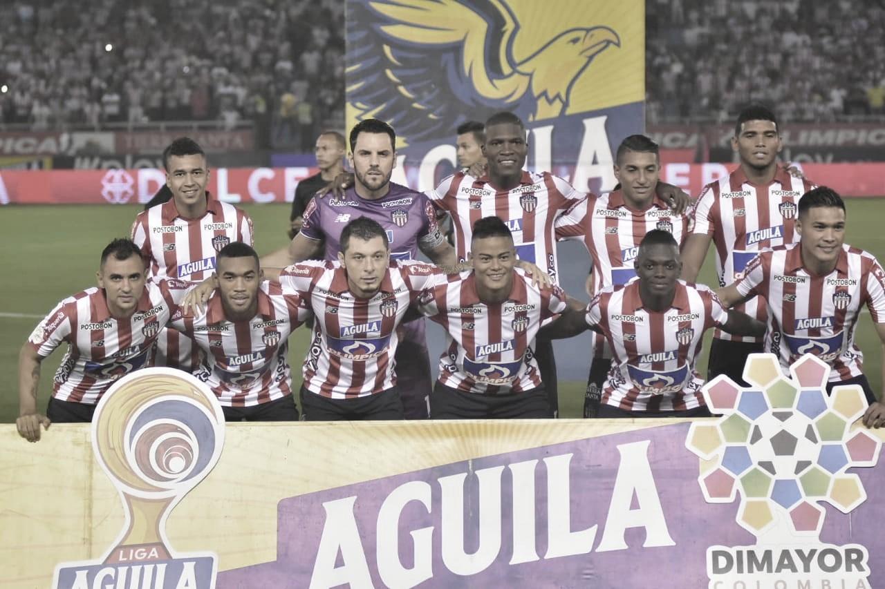 Puntuaciones de Junior en la fecha cuatro de los cuadrangulares de la Liga Aguila 2019-II