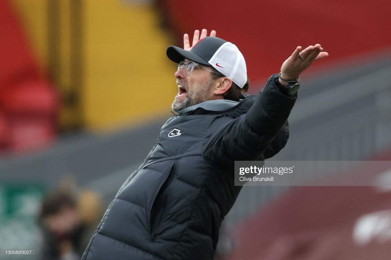 Jurgen Klopp's key quotes from Liverpool 0 - 1 Fulham