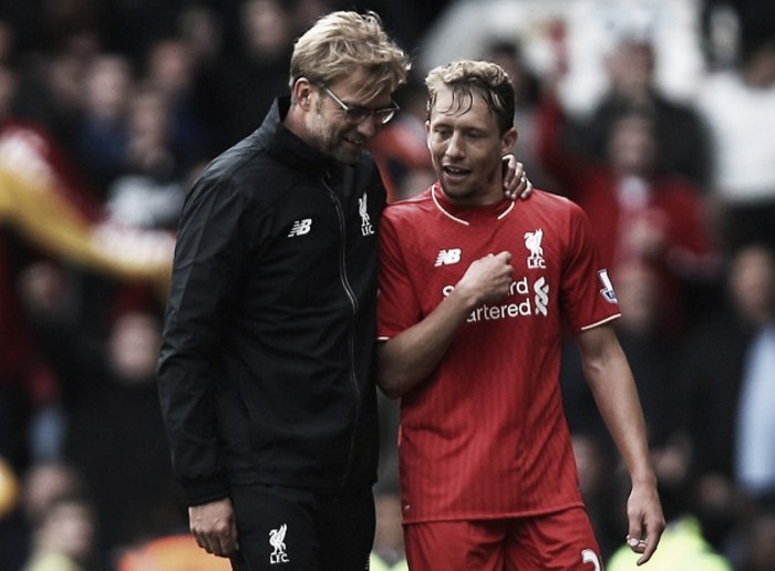 Liverpool's Lucas Leiva going nowhere until Jürgen Klopp has sufficient defensive back-up in place