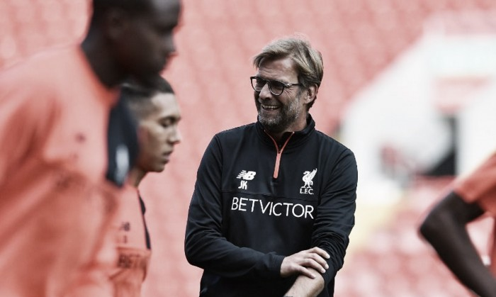 "Jürgen Klopp calls upon his side to use the ""power"" of redeveloped Anfield against Leicester City"