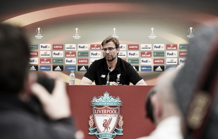 Klopp: Liverpool must not feel pressure in the Europa League final or we stand no chance