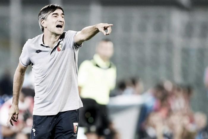 """Genoa, Juric prima del Milan: """"Cambierò qualcosa nella formazione di domani"""""""