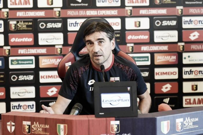 """Genoa, Juric: """"Palermo solido, ma negli spazi sappiamo esaltarci"""""""