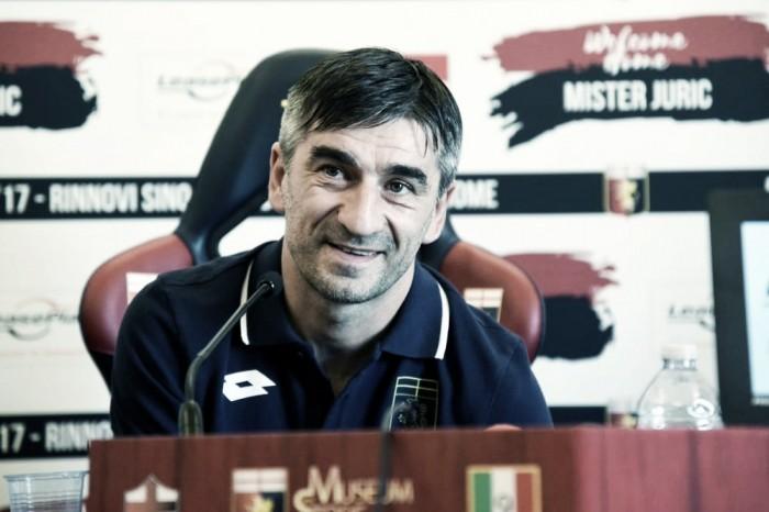 """Genoa, Juric in conferenza: """"Simeone al posto di Pavoletti, il Pescara ha grande tecnica"""""""