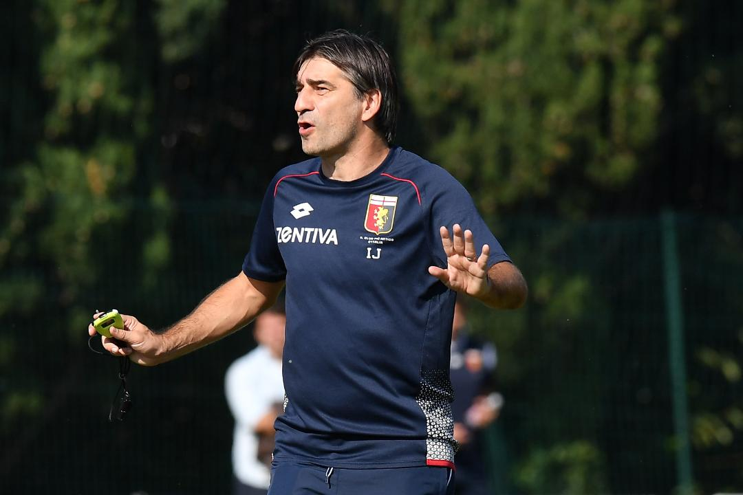 Genoa: Juric si prepara al tremendo esordio in campionato contro la Juventus